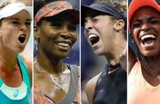 """Các tay vợt nữ của chủ nhà Mỹ """"làm loạn"""" tại US Open 2017"""