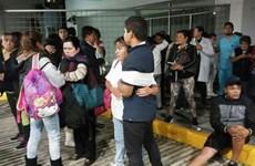 Đã có ít nhất 5 người thiệt mạng trong vụ động đất tại Mexico