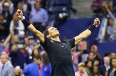 Rafael Nadal ngược dòng giành vé vào chung kết US Open 2017