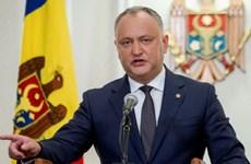 Tổng thống Moldova tuyên bố sẽ không ký dự luật chống Nga
