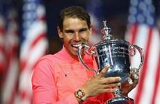 Hạ gục nhanh Anderson, Rafael Nadal giành Grand Slam thứ 16