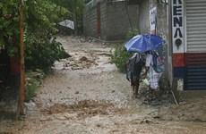 Bão Max đang áp sát thành phố biển Acapulco của Mexico