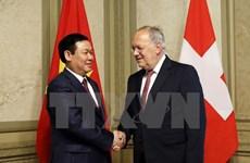 [Video] Phó Thủ tướng Vương Đình Huệ thăm và làm việc tại Thụy Sĩ