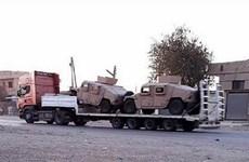Mỹ tiếp tục cung cấp vũ khí hạng nặng cho Lực lượng dân chủ Syria