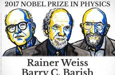 Giải Nobel Vật lý 2017 vinh danh ba nhà khoa học người Mỹ