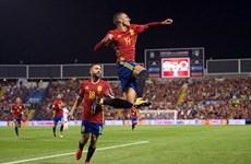 Tây Ban Nha giành vé đến Nga dự vòng chung kết World Cup 2018
