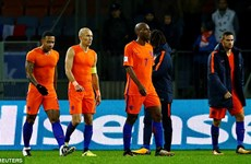 """Cơn lốc màu da cam"" Hà Lan 99,9% bị loại khỏi World Cup 2018"