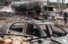 Hơn 40 người thương vong trong vụ nổ ga tại thủ đô của Ghana