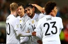 Tuyển Đức kết thúc vòng loại World Cup 2018 với số điểm tuyệt đối