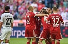 Bayern thắng tưng bừng, Dortmund đứt mạch bất bại sau 30 tháng