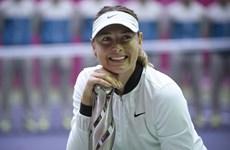 Sharapova giành danh hiệu đầu tiên sau án phạt cấm thi đấu