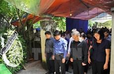 Lời cảm ơn của TTXVN và gia đình nhà báo Đinh Hữu Dư