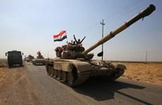 Các lực lượng Iraq đã kiểm soát một số địa điểm gần Kirkuk