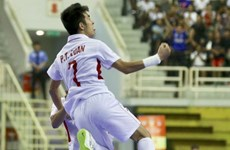 Tuyển Futsal Việt Nam thắng kịch tính trước đội tuyển Indonesia