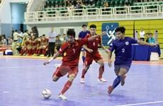 Cận cảnh chiến thắng kỷ lục 24-0 của đội tuyển Futsal Việt Nam