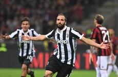 Cận cảnh Higuain tỏa sáng giúp Juventus đánh bại AC Milan