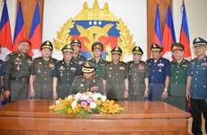 Quân đội Việt Nam và Quân đội Campuchia tăng cường hợp tác