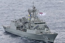 Australia-Mỹ-Hàn tập trận ngăn chặn tàu chở vũ khí của Triều Tiên