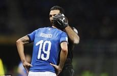 Đội tuyển Italy chính thức lỡ hẹn vòng chung kết World Cup 2018