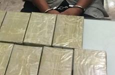 Bắt đối tượng vận chuyển trái phép ma túy từ Tây Bắc về Hà Nội