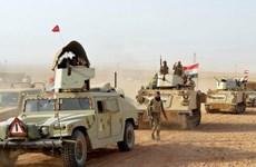 Iraq mở chiến dịch quy mô lớn tấn công IS tại vùng sa mạc phía Tây