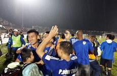 Quảng Nam FC đăng quang V-League sau mùa giải siêu kịch tính