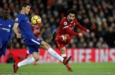 Liverpool và Chelsea chia điểm, Manchester United thắng may