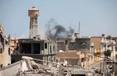 Những tay súng IS có dấu hiệu hội quân tại thành phố Sirte của Libya