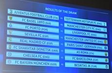 Vòng 1/8 Champions League: Chelsea đụng Barca, Real gặp PSG