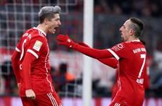 Thắng tối thiểu Cologne, Bayern bất bại trên sân nhà năm 2017
