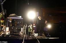 Pháp: Số người thiệt mạng trong vụ tai nạn đường sắt tiếp tục tăng