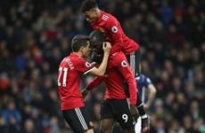Lukaku giúp M.U đánh bại West Brom; Thắng đậm Liverpool lọt top 4