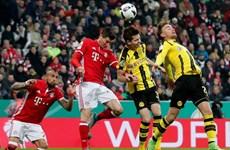 """Bayern Munich quyết đấu"""" Dortmund tranh vé vào tứ kết DFB Pokal"""