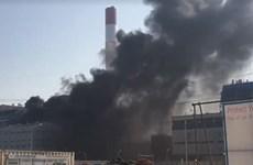 Xảy ra hỏa hoạn tại dự án Nhà máy Nhiệt điện Thái Bình 2