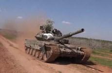 Nga chuyển giao nhiều xe tăng hiện đại cho quân đội Syria