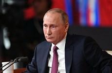 Tổng thống Nga phê chuẩn thỏa thuận mở rộng căn cứ ở Syria