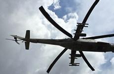 Một trực thăng quân sự Mi-24 của Nga đã bị rơi tại Syria