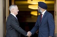 Bộ trưởng Quốc phòng Canada và Mỹ hội đàm song phương