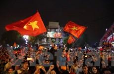 Gia đình các cầu thủ U23 Việt Nam hân hoan với chiến thắng lịch sử