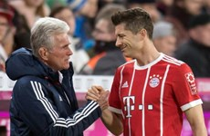 Robert Lewandowski sắp san bằng kỷ lục của HLV Jupp Heynckes