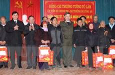 Bộ trưởng Bộ Công an Tô Lâm thăm và tặng quà Tết tại Sơn La