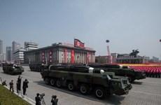 Triều Tiên phô diễn tên lửa đạn đạo có khả năng vươn tới Mỹ
