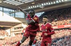 Liverpool chiếm vị trí thứ 2 của M.U sau chiến thắng vùi dập