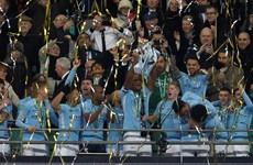 Vùi dập Arsenal, Manchester City vô địch Cúp Liên đoàn Anh