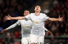 Manchester United ngược dòng hạ Crystal Palace đầy kịch tính