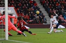 Tottenham Hotspur 'đá' Liverpool ra khỏi tốp 3 Premier League