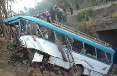 Tai nạn đường bộ thảm khốc tại Ethiopia, Thổ Nhĩ Kỳ và Ấn Độ