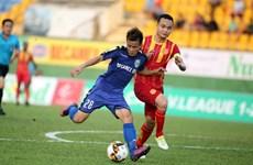 Hạ Nam Định, Bình Dương có chiến thắng đầu tay ở V-League 2018