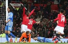 Matic tỏa sáng đưa Manchester United vào bán kết FA Cup