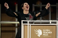 Nữ giáo viên Anh nhận giải Giáo viên toàn cầu trị giá 1 triệu USD